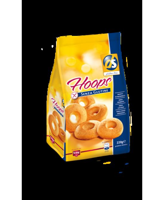Schar Hoops Biscotti Senza Glutine 220g - Zfarmacia