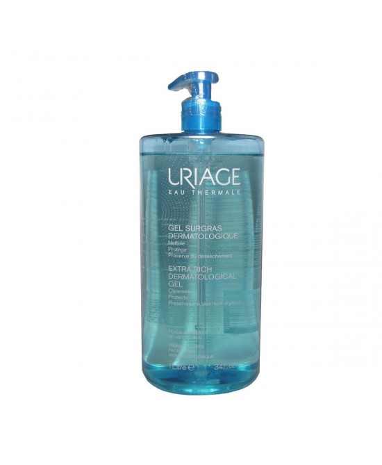 Uriage Extra-rich Dermatological Gel 1l - Farmamille