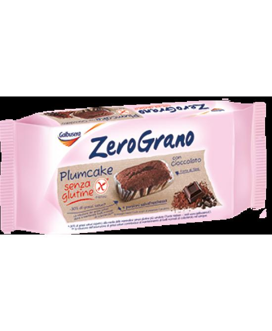 Galbusera Zerograno Plumcake Al Cioccolato 150g - FARMAEMPORIO