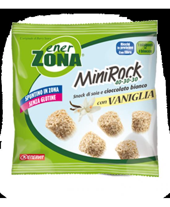 EnerZona Enervit MiniRock 40-30-30 Con Vaniglia Senza Glutine 24g - Farmabravo.it