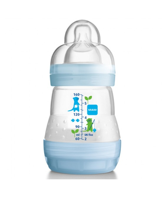 Mam First Bottle Start 160ml + Start Nanosilikonseta - La tua farmacia online