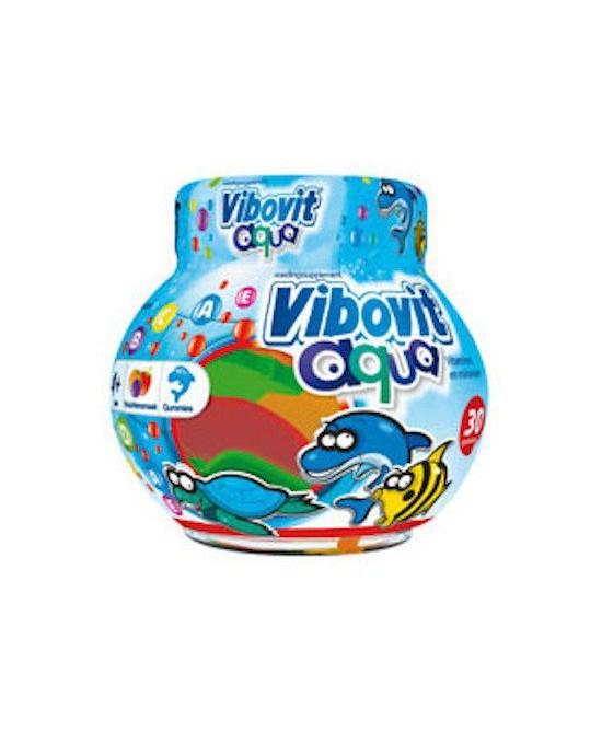 Junior Vibovit Aqua Multivitaminico Integratore Alimentare 50 Caramelle Gommose - Zfarmacia