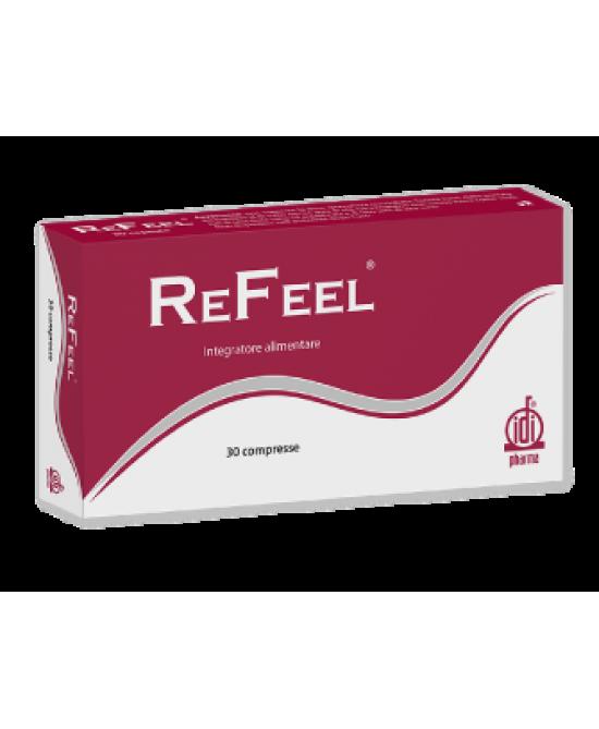 Idi ReFeel Integratore Alimentare 30 Compresse - Farmacento