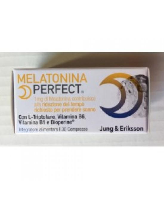 Melatonina Perfect Integratore Alimentare 30 Compresse - Farmacia 33