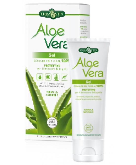ErbaVita Aloe Vera Uso Esterno Aloe Vera Gel  200ml - FARMAEMPORIO