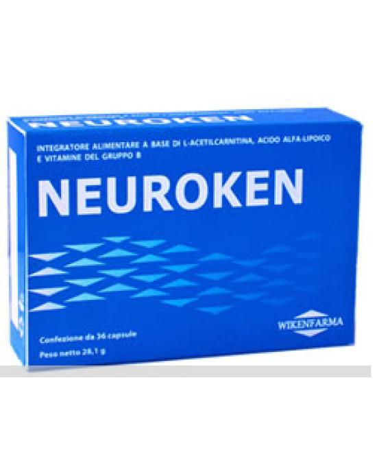 Neuroken Integratore Alimentare 36 Capsule - Farmacia 33