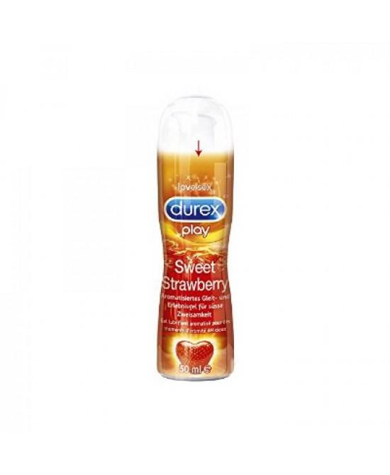 Durex Play Gel Sweet Strawberry Lubrificante 50ml - Farmastar.it