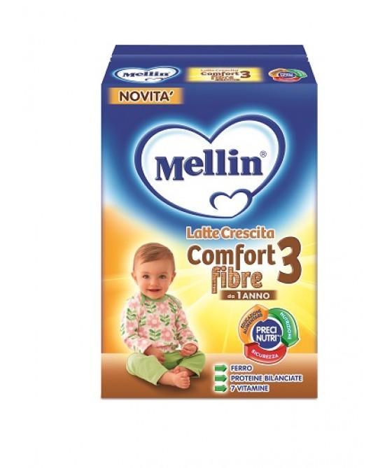 Mellin Latti Di Crescita Comfort 3 Fibre 600g - Farmacia 33