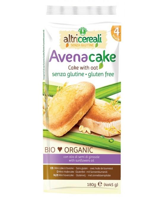 AltriCereali Avena Cake Bio Senza Glutine 180g - FARMAEMPORIO