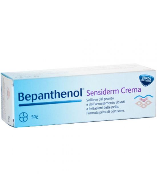Bayer Bepanthenol Sensiderm Crema Sollievo Al Prurito 50g - Farmamille