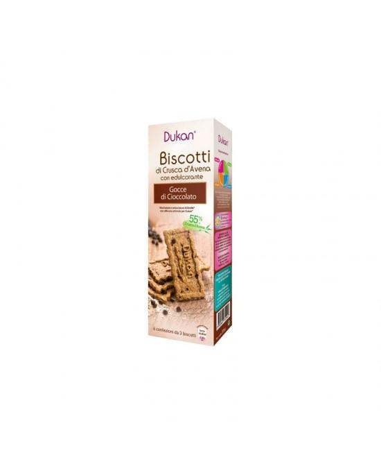 Dukan Expert Biscotti Alla Crusca D'Avena Con Gocce Di Cioccolato 6x3 Biscotti - FARMAEMPORIO