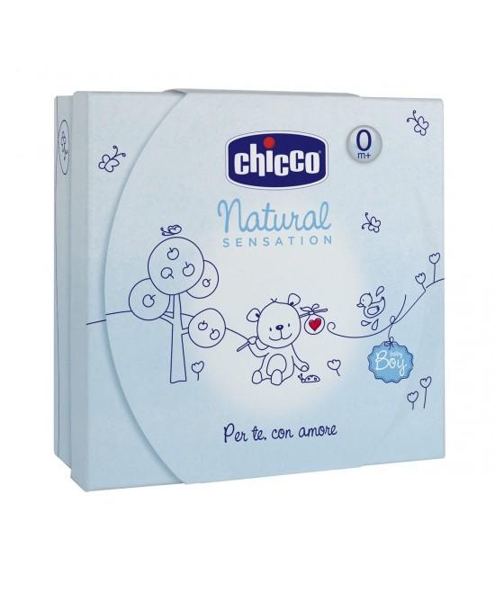 Chicco Natural Sensation Cofanetto Piccolo Azzurro - La tua farmacia online