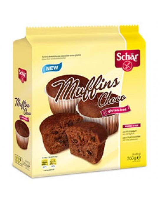 Schar Muffins Choco Senza Glutine 260g - Zfarmacia