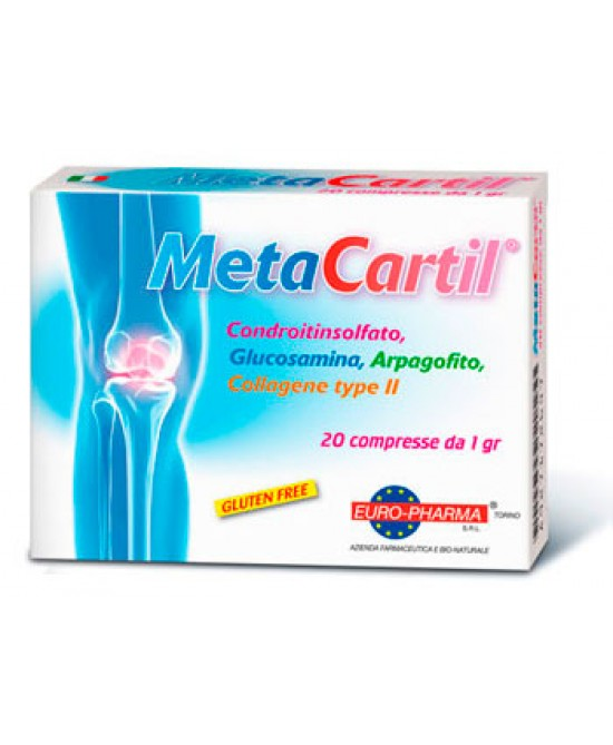 Metacartil Integratore Alimentare 20 Compresse x1g - Farmastar.it