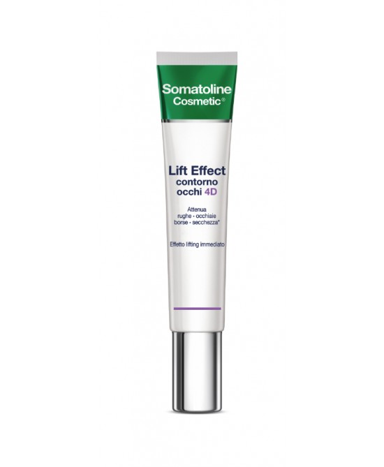 Somatoline Cosmetic Crema Contorno Occhi 4D Effetto Lifting Immediato 15ml - Zfarmacia
