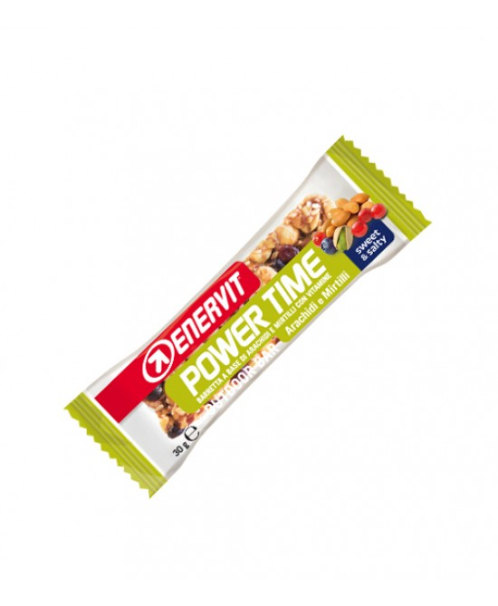 Enervit Power Time Barretta Gusto Arachidi E Mirtilli 30g - Farmacia 33