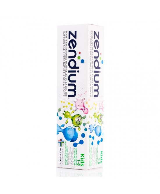 Zendium Kids 1-6 Dentifricio 75ml - FARMAEMPORIO