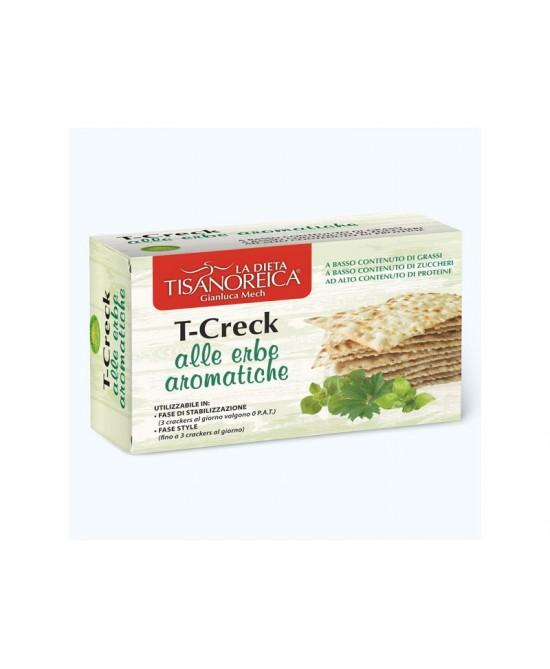 Tisanoreica Vita Style T-Creck Crackers Alle Erbe Aromatiche 100g - La tua farmacia online