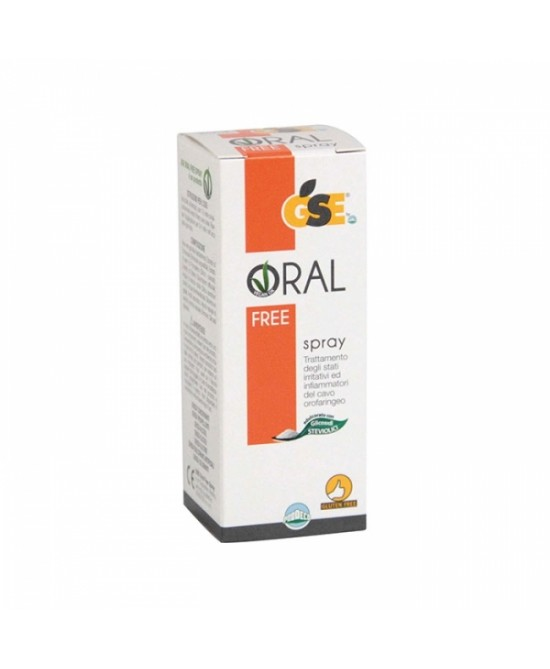 Gse Oral Free Spray 20ml - Farmacento