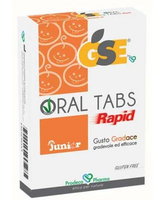 GSE Oral Tabs Rapid Junior Integratore Alimentare 12 Compresse - farma-store.it