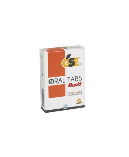 GSE Oral Tabs Rapid 12 Compresse - farma-store.it