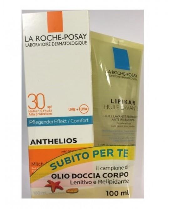 La Roche-Posay Latte Solare SPF30 100ml + Huile Lavante 100ml - Farmacia 33