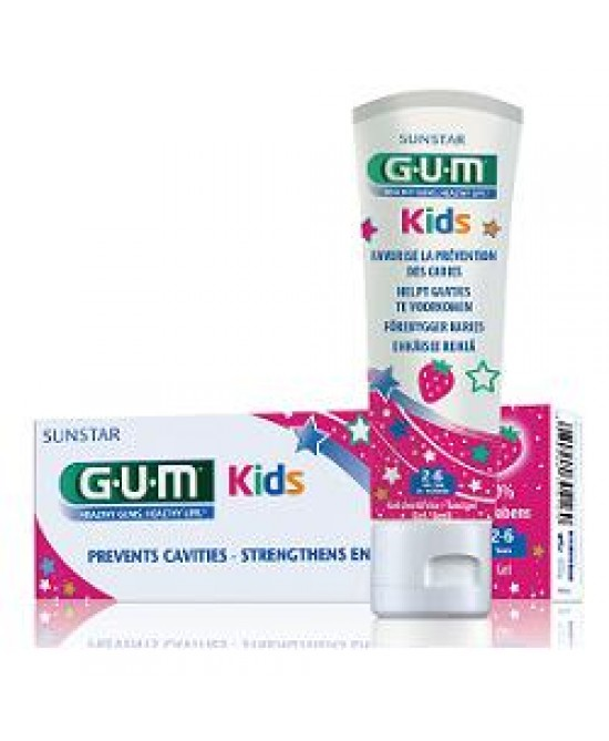 Gum Kids Dentif2/6fluor 500ppm - FARMAEMPORIO