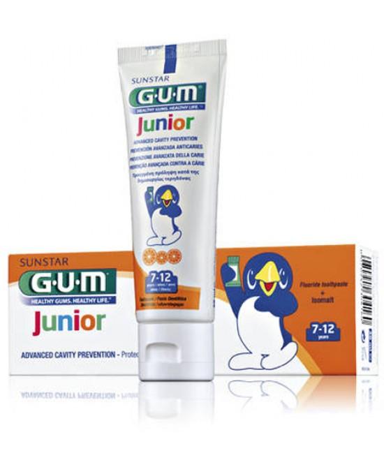 Gum Junior Dentifrico 7/12 Anni Al Fluoro 50ml - Farmacento