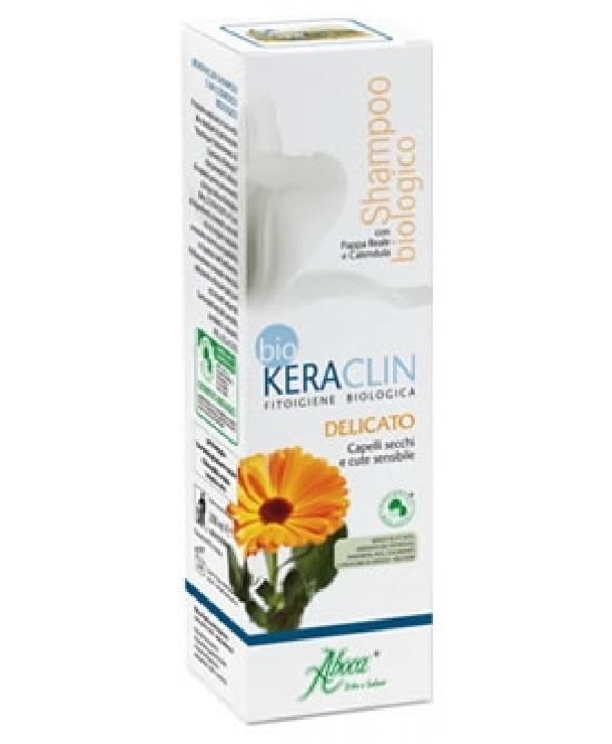Aboca Keraclin BioShampoo Delicato 200ml - Farmacia 33
