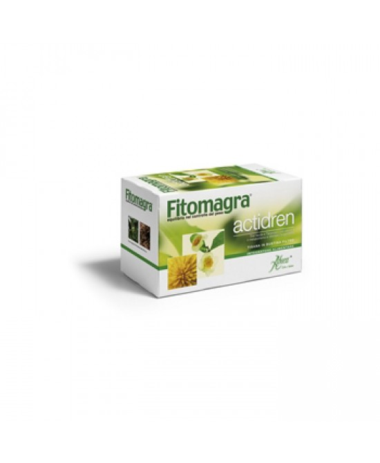 Aboca Fitomagra Actidren Tisana 20 Bustine Da 1.8g - Farmamille