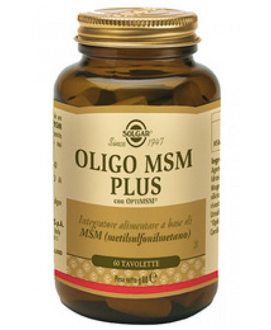 Solgar Oligo Msm Plus 60 Tavolette - Farmacia 33