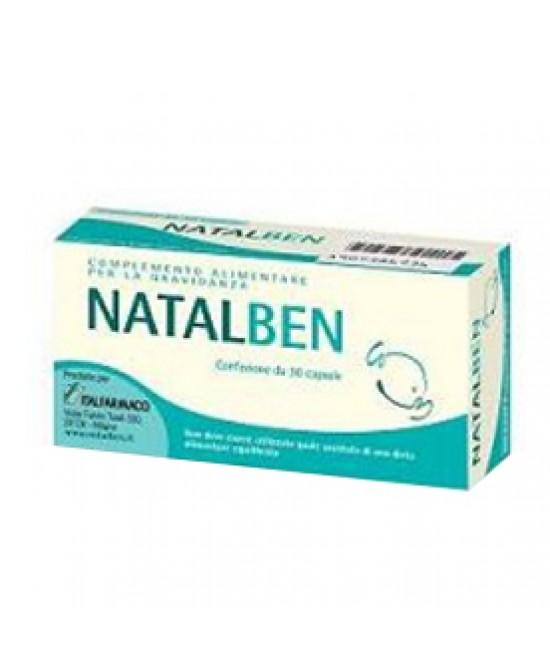 Natalben Piu' 30cps - Antica Farmacia Del Lago