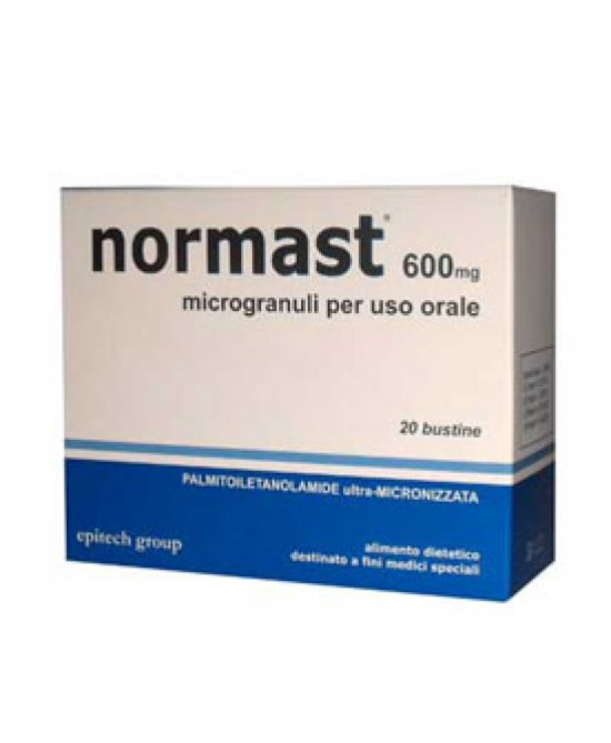 Normast 600mg 20bust Microgran - Farmamille
