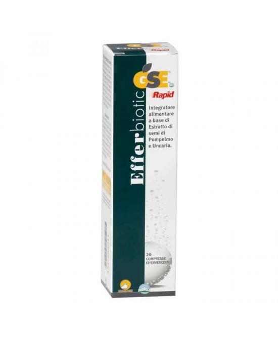 Prodeco Pharma Gse Efferbiotic Integratore Alimentare 20 Compresse Effervescenti - Parafarmaciabenessere.it