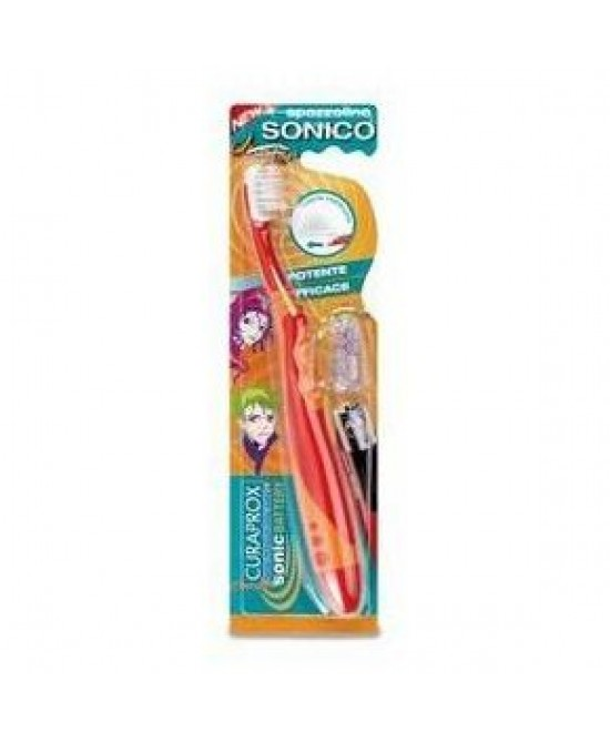 Curaden Healthcare Curaprox Spazzolino Sonico Batterie Incluse Junior - FARMAEMPORIO
