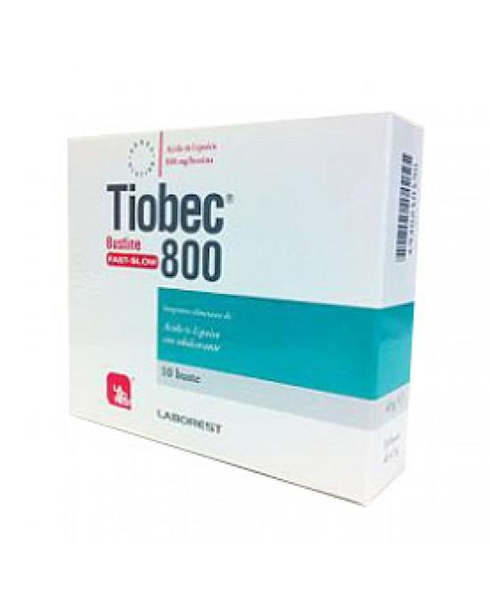 Tiobec 800 Bustine Fast-Slow - Farmacento