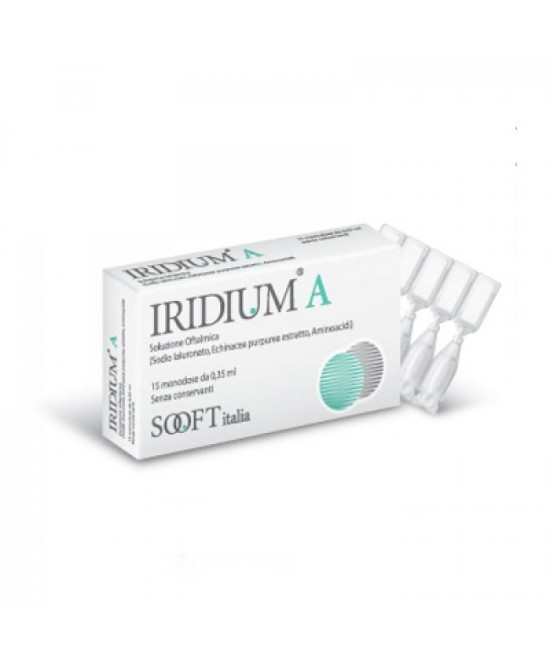 Iridium A Collirio Flaconi Monodose 0.35ml - Farmaciasconti.it