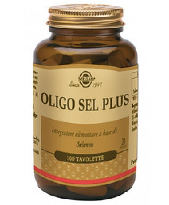 Solgar Oligo Sel Plus 100 Tavolette - Farmacia 33