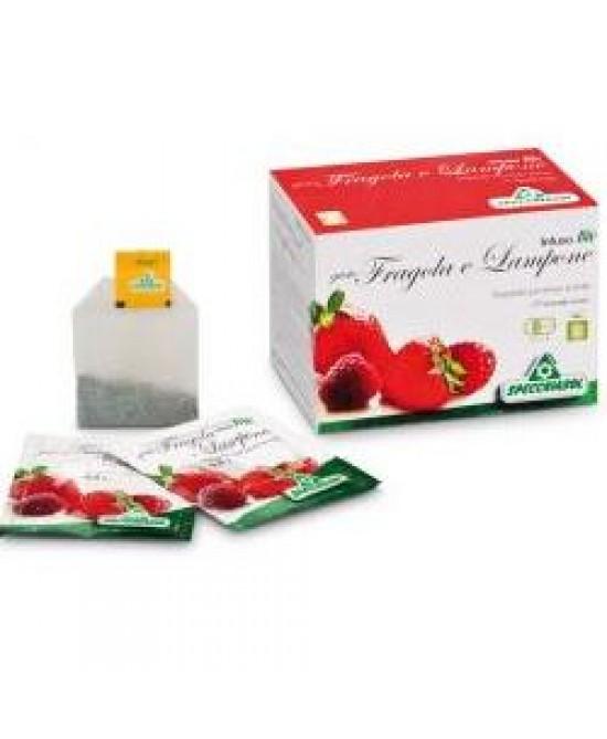 Specchiasol Tisana Bio Gusto Fragola e Lampone 20 Filtri - La tua farmacia online