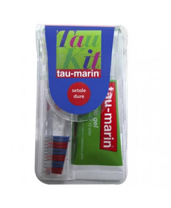 Tau-Marin Kit Viaggio Spazzolino E Dentifricio - Farmacento