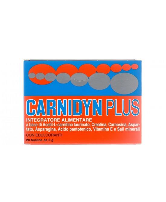 Carnidyn Plus Integratore Alimentare 20 Bustine Da 5g - Farmacento