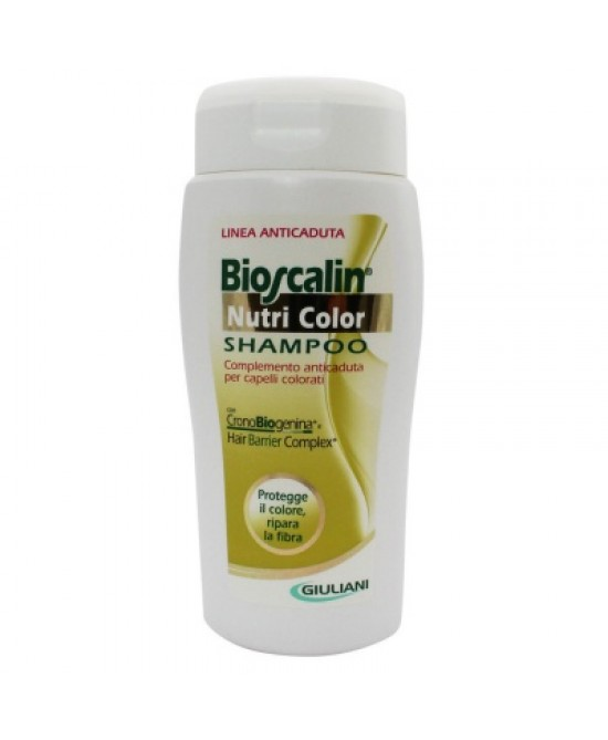 Bioscalin Nutri Color Shampoo 200ml - Zfarmacia