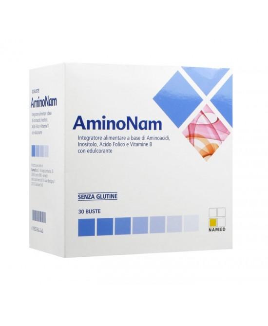 Named AminoNam Integratore Alimentare 30 Bustine - Zfarmacia
