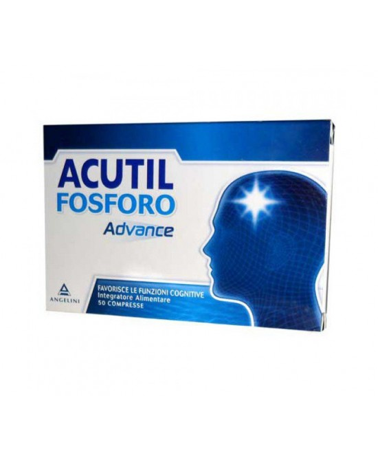 Acutil Fosforo Advance Integratore Alimentare 50 Compresse - Farmamille