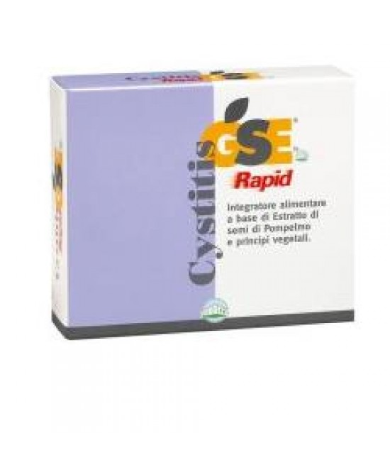 Gse Cystitis Rapid 30cpr - farma-store.it