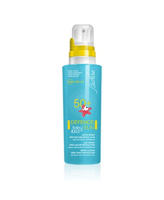Defence Sun Baby&Kid Latte Solare Spray Spf50+ 125 ml - Farmalilla