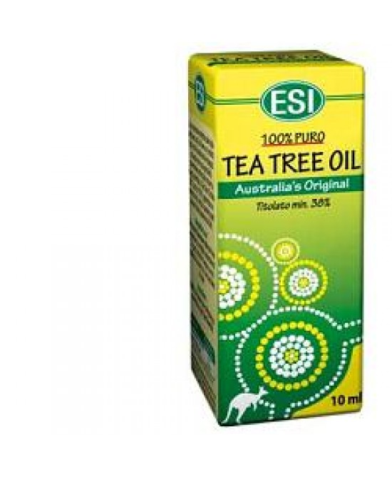 Esi Tea Tree Remedy Oil Benessere Vie Respiratorie Decongestionante 10 ml - La tua farmacia online