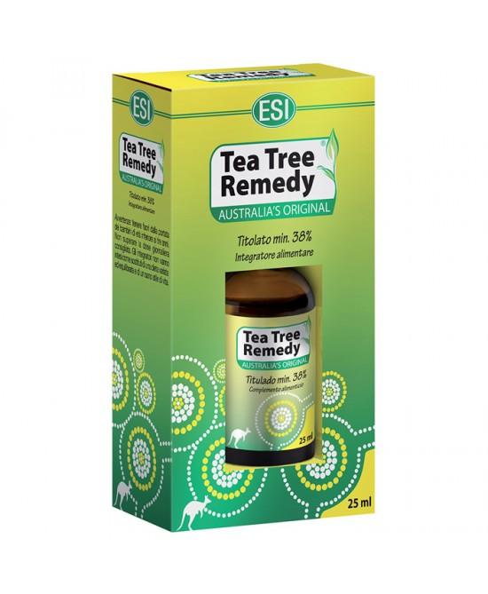 Esi Tea Tree Remedy Oil Benessere Vie Respiratorie Decongestionante 25ml - La tua farmacia online