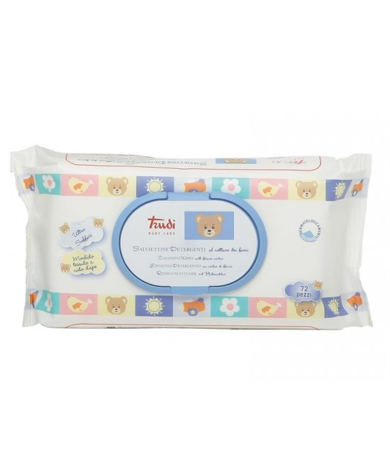 Trudy Baby Care Salviettine Detergenti 72 Pezzi - Farmastar.it