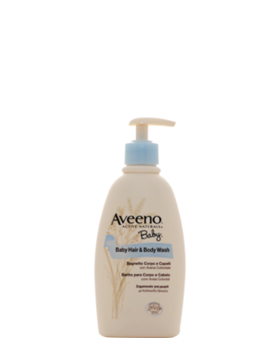 Aveeno Baby Hair And Body Wash 300ml - Zfarmacia